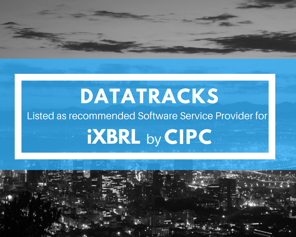 DataTracks iXBRL software and services South Africa