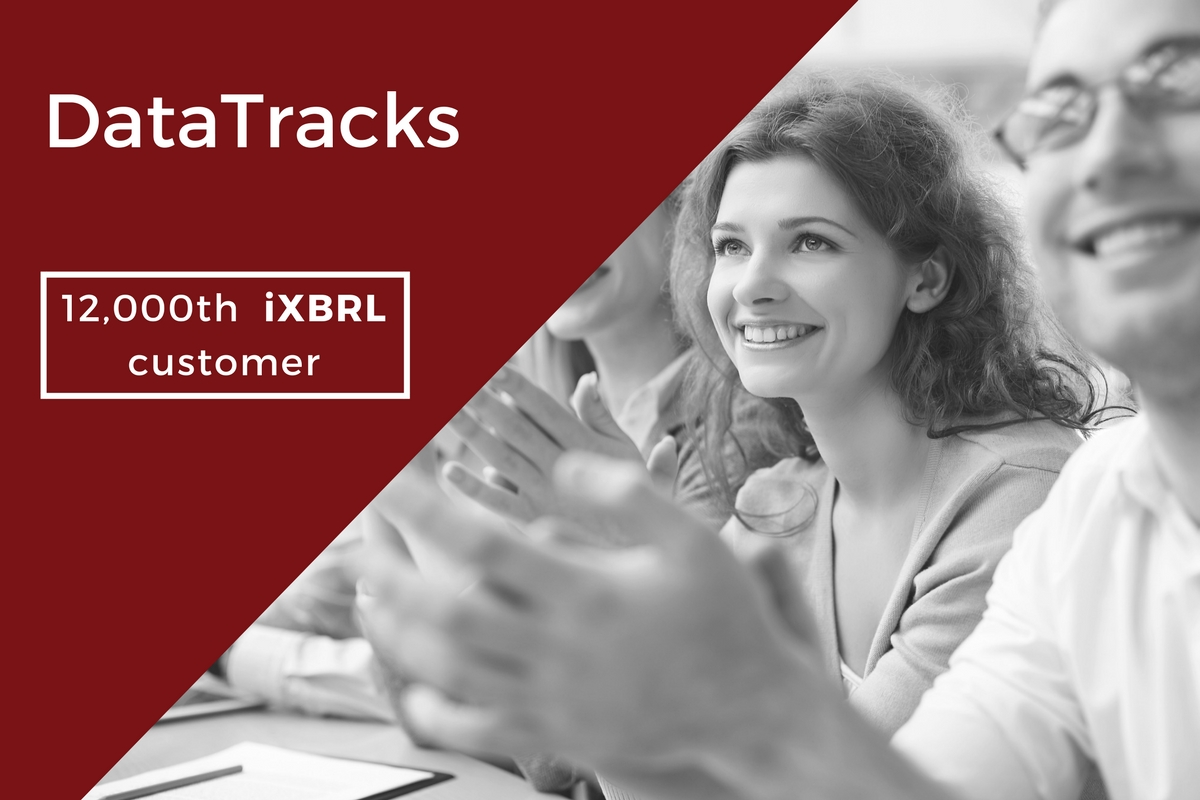 DataTracks announces global market leadership with its 12,000th iXBRL customer